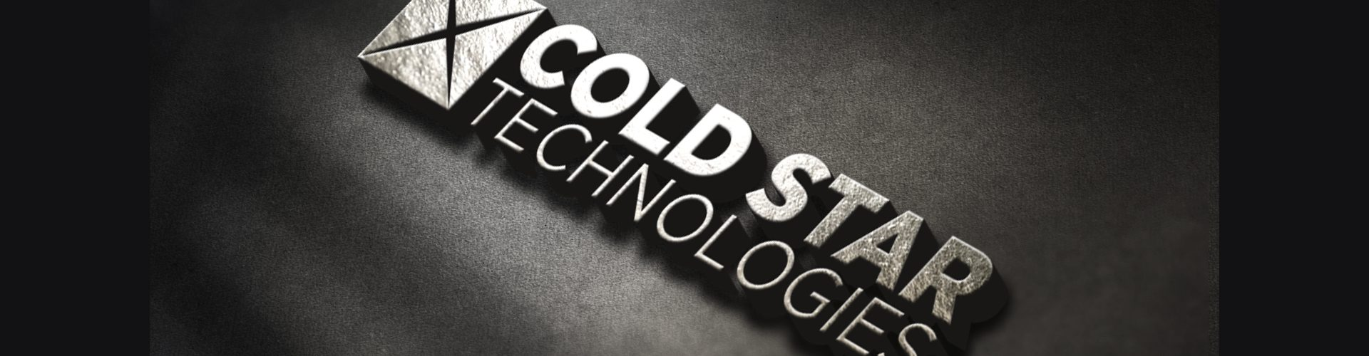 cold star tech logo dark