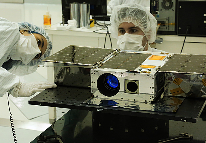 cubesat telescope manufacturing process engineering mission success